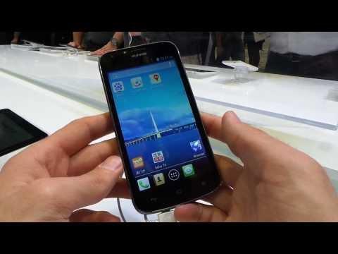 Huawei Ascend Y600 okostelefon bemutató videó | Tech2.hu