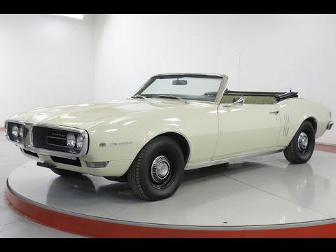 Video of '68 Firebird - Q4ME