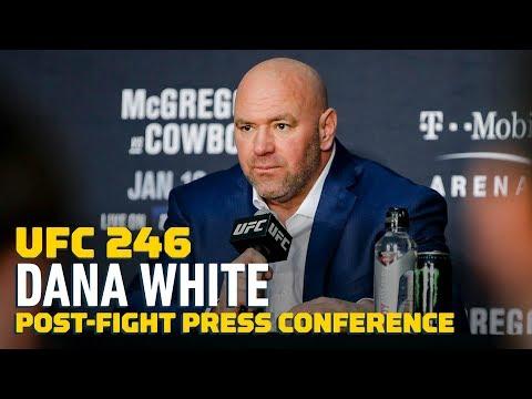 UFC 246: Dana White Post-Fight Press Conference - MMA Fighting