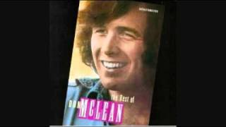 DON MCLEAN - AND I LOVE YOU SO  1970