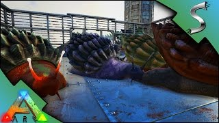 ACHATINA TAMING! EASY CEMENTING PASTE FACTORY!   Ark: Survival Evolved [S2E78]
