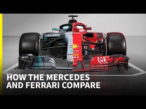F1 2018 tech special: How Mercedes and Ferrari compare