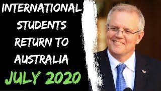 GREAT NEWS | Pilot project for INTERNATIONAL STUDENTS to return to AUSTRALIA | Internash