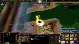 Super Saiyan 4 (Goku SSJ4) siêu mạnh trong Warcraft 3