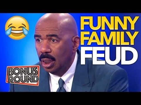 FUNNY FAMILY FEUD Moments With Steve Harvey | Bonus Round