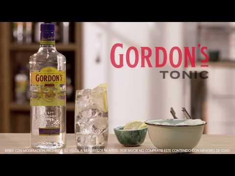Gordon's Dry Gin Tonic.