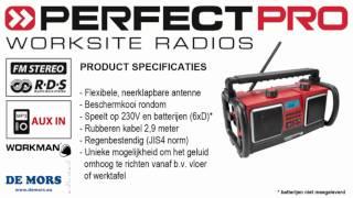 PerfectPro Workman bouwradio