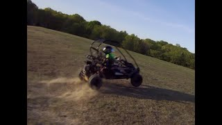 GoKart Quadcopter FPV Chase Video