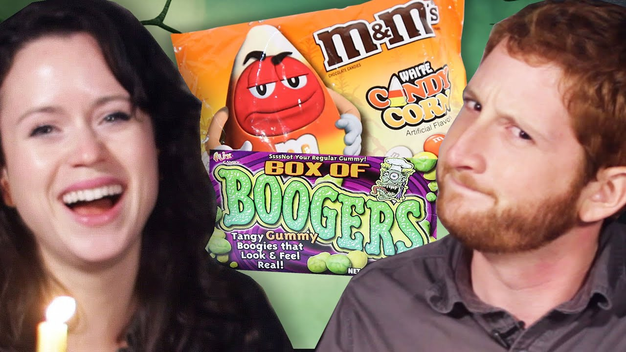 The Scariest Halloween Candy Taste Test thumbnail