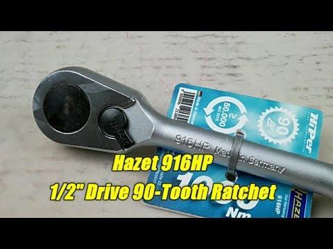 Hazet 916HP 90-tooth Ratchet