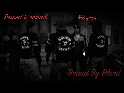 Grand Theft Auto 5 Bound By Blood Mc Setting the Night on Fire