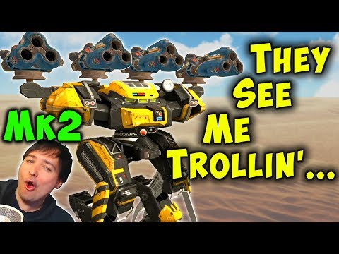 MAXIMUM TROLL War Robots CHIMERA BEHEMOTH Mk2 Live Gameplay WR