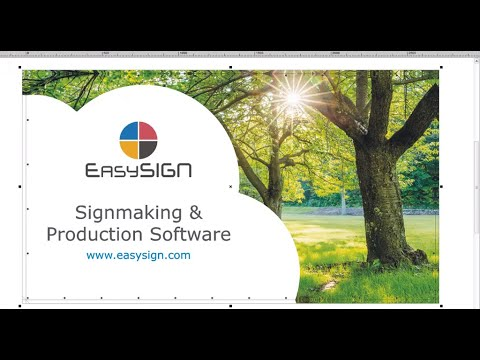 EasySIGN Banner & Poster Tutorial - YouTube