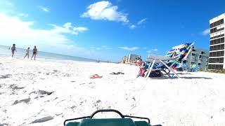 Long Range FPV RC Truck at the beach (no music)