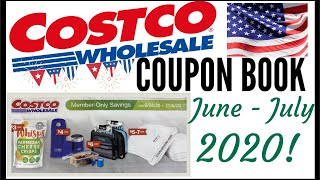 🇺🇸JUNE + JULY 2020 COSTCO Coupon Book!!!🔥MEMBER ONLY SAVINGS DEALS 💰Preview 2020 ● 6/24/20 - 7/26/20