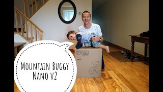 Don't Buy a Stroller Before You Watch! Mountain Buggy,  Nano v2 Stroller Review - Assembly 2017