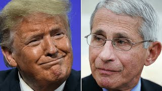 video: Donald Trump calls Dr Anthony Fauci a 'disaster' on day of repeated attacks on his senior Covid adviser