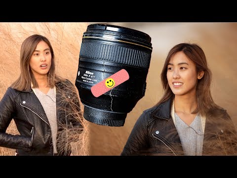 I broke a lens...? 6 Nikon Portrait lenses compared LIVE