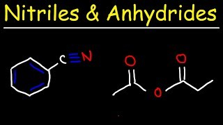 Naming Acid Anhydrides and Nitriles - IUPAC Nomenclature