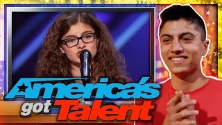 AMERICA'S GOT TALENT behind the scenes with Sophie Pecora