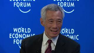WEF2020: A Conversation with Lee Hsien Loong, Prime Minister of Singapore