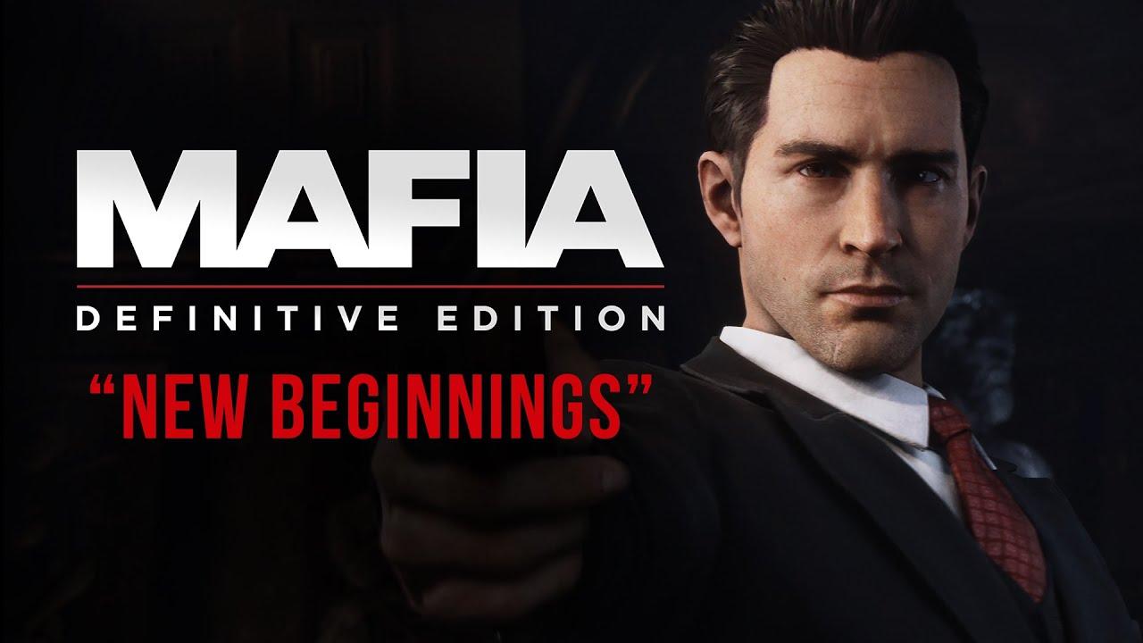 Сюжетный трейлер игры Mafia: Definitive Edition