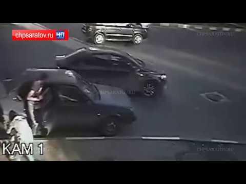 Жестокое избиение на проспекте Строителей в Саратове