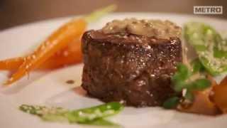 Recipe : Flambeed Pepper Steak