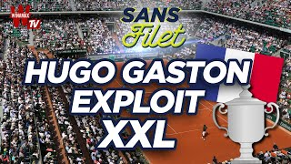 ???? Tennis Roland-Garros 2020 : L'exploit d'Hugo Gaston ! (Sans Filet)