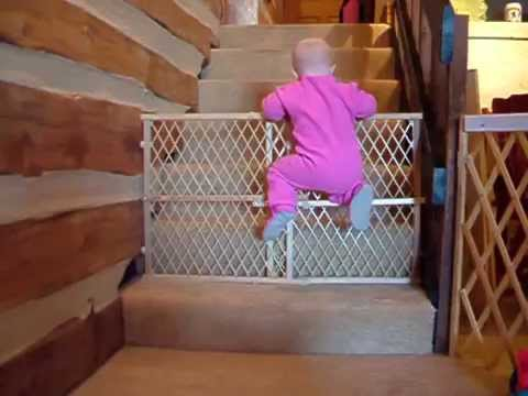 15 Impossible Videos Of Babies And Toddlers Escaping From