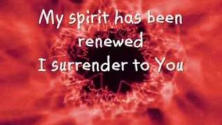 I Surrender To You by Jeremy Camp
