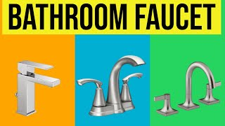 Bathroom Faucet: Best Bathroom Sink Faucets