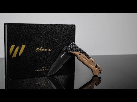 🗡 BERGKVIST Klappmesser - Einhandmesser