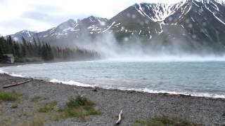 Katabatic Winds - Extreme Gusts in Kluane National Park, Yukon, Canada