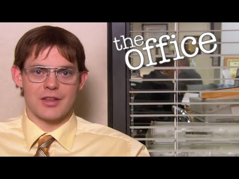 Identity theft scene from the office deepfaked with Dwight's actual face
