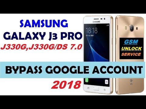 Samsung J3 pro j330g frp remove with adb enable file (FIX OEM LOCK