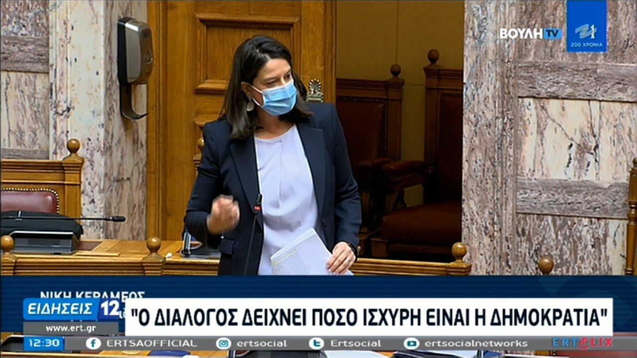 Βουλή: Πεδίο αντιπαράθεσης το νομοσχέδιο για την Παιδεία ΕΡΤ 09/02/2021