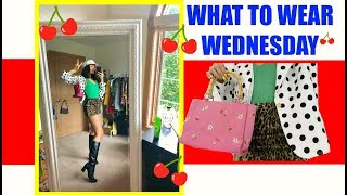 WHAT TO WEAR WEDNESDAY EP. 37/ MIXING PATTERNS & LONG DENIM SKIRTS