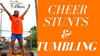 JCE SZN 2 | Ep.30 Cheer Stunt And Tumbling Sessions!