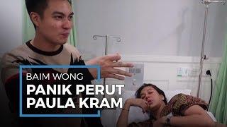 Baim Wong Panik Ketahui Istrinya Paula Verhoeven Alami Kram Perut hingga Sesak Napas