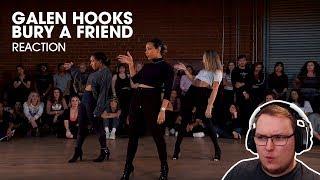 Billie Eilish - Bury a Friend - GALEN HOOKS ft. Maddie Ziegler, Charlize Glass - REACTION!