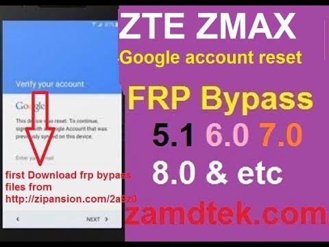 Zte Z982 Google Bypass