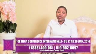 Guérison et délivrance 10ème Conférence des Femmes Affranchies