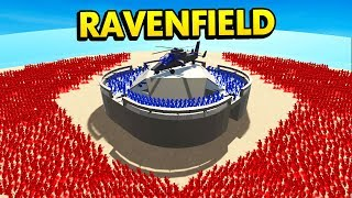 EPIC FORT DEFENSE IN RAVENFIELD (Ravenfield Funny Gameplay)