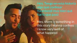 Luis Fonsi ,Demi Lovato Echame LA Culpa Song Lyrics English + Spanish