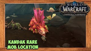 World of Warcraft Kandak Rare Mob Location