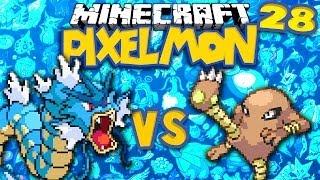 Hitmonlee  - (Pokémon) - Gyarados v Hitmonlee ★ MINECRAFT POKEMON (PIXELMON, Ep.28)