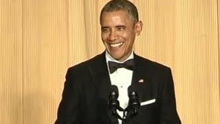 President Obama at the 2014 White House Correspondents