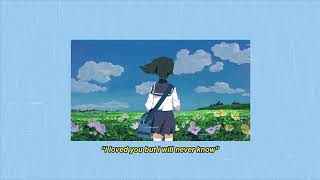 imfinenow - i loved you but i will never know