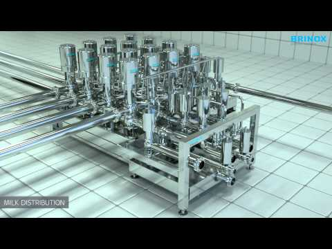 SUCCESSFUL DESIGN AND ERECTION OF THE WORLD'S LARGEST PRODUCTION LINE FOR KEFIR | Brinox